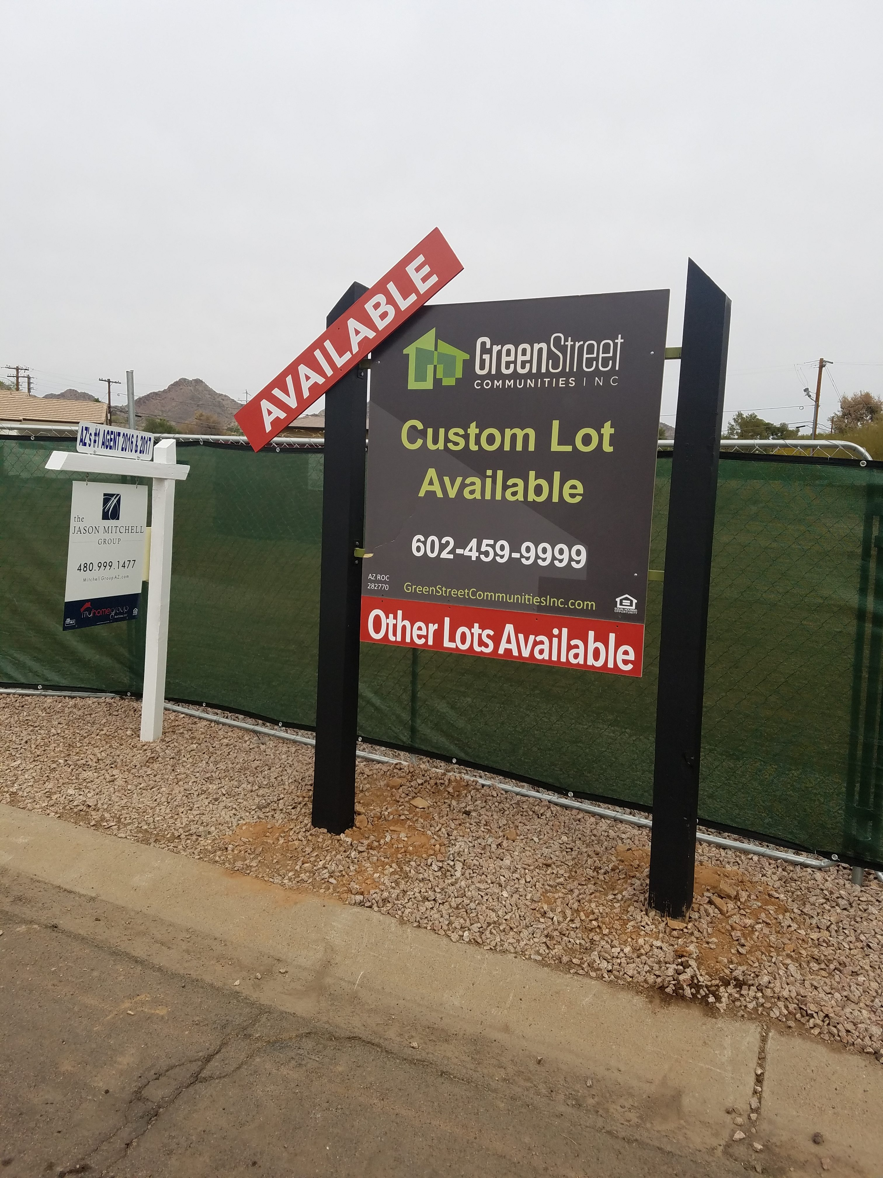 Commercial 4x8 sign